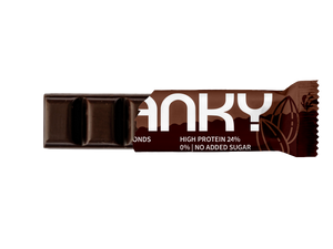 FRANKY DARK CHOCOLATE & ALMONDS - Feel Good Box (20 Stück) - FRANKY Chocolate