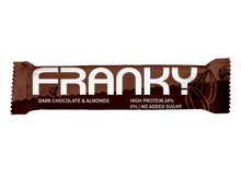 Laden Sie das Bild in den Galerie-Viewer, FRANKY DARK CHOCOLATE & ALMONDS - Feel Good Box (20 Stück) - FRANKY Chocolate