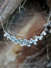 Signature Blue Topaz Smile Necklace 1