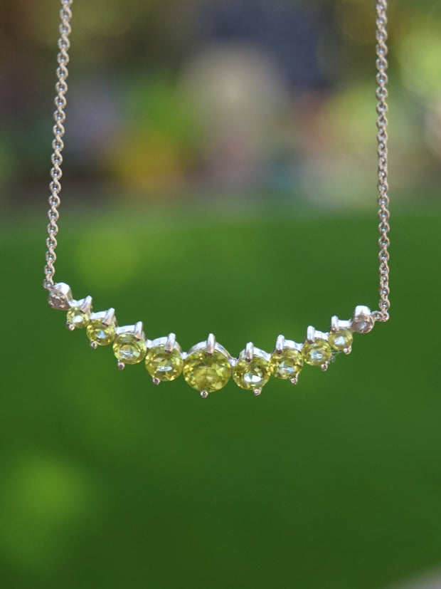 Signature Peridot Smile Necklace 1
