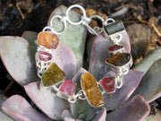 Rough Tourmaline Bracelet 1