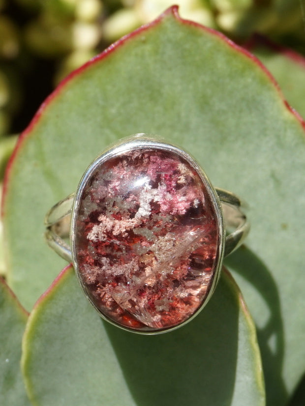 Garden Lodolite Quartz Ring 2