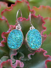 Quartz Crystal Druzy Earring Set 2