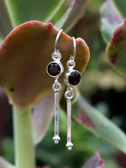 Smoky Quartz Drop Earring Set 4