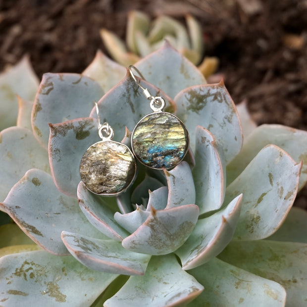 Labradorite Earring Set 2