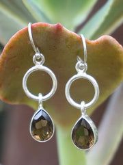Smoky Quartz Drop Earring Set 3