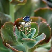 Rough Tanzanite Ring 1