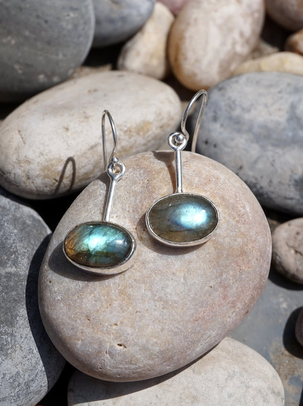 Labradorite Earring Set 1