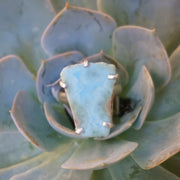 Free-form Larimar Ring 2