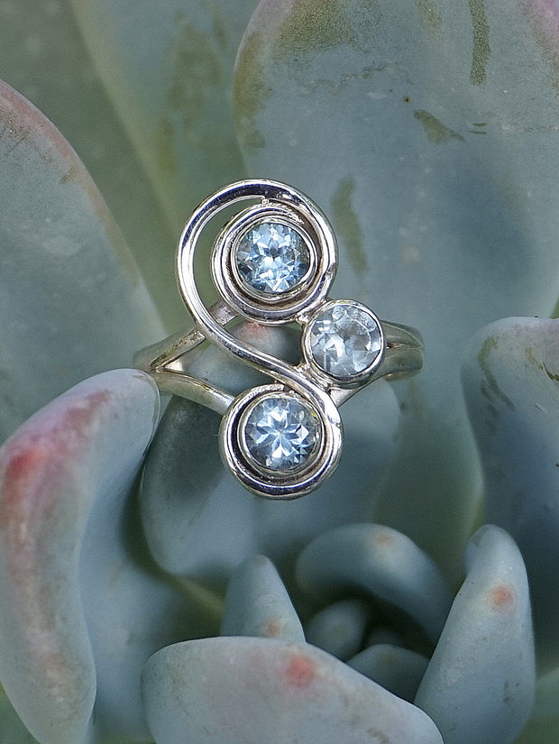 Blue Topaz Ring 1