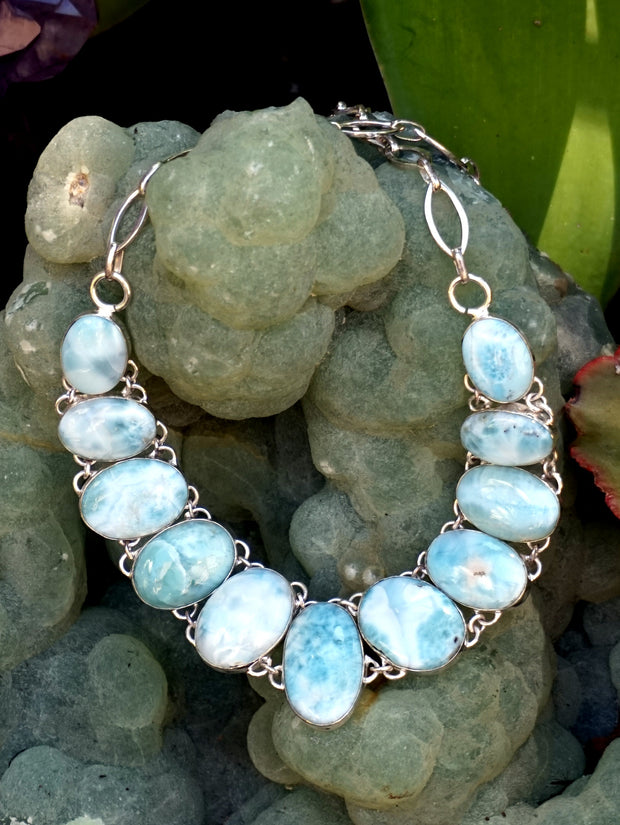 Larimar Necklace 6
