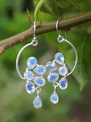 Opalite Drop Earring Set 1