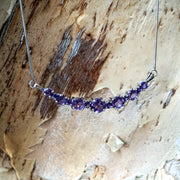 Large Signature Amethyst Smile Necklace 3