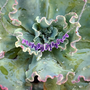 Signature Amethyst Smile Necklace 2
