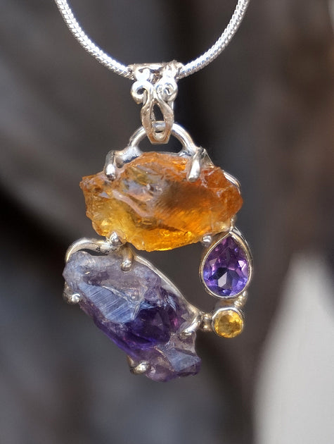 Amethyst Quartz Andrea Jaye Collection