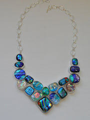 *Dichroic Glass Necklace 1