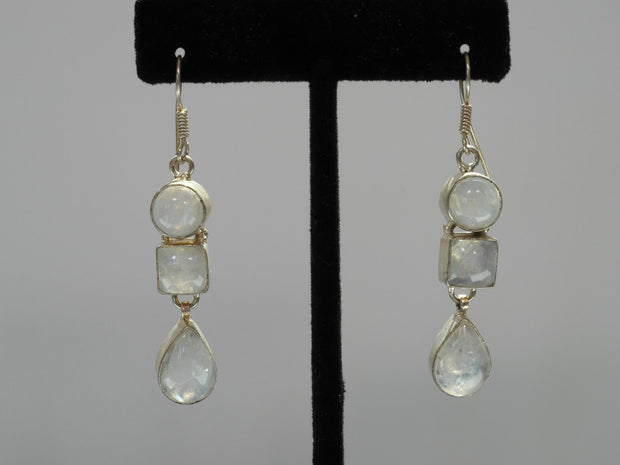 Moonstone Earring Set 3