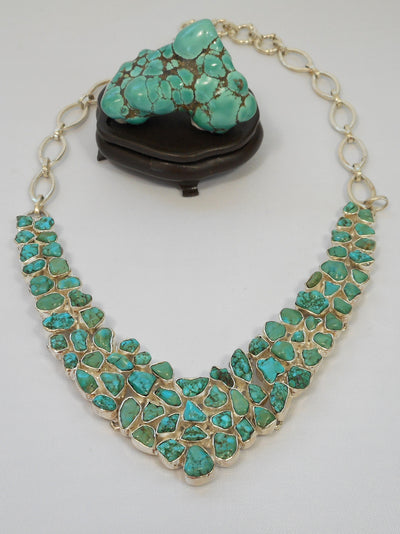 Artisan Turquoise Necklace 1