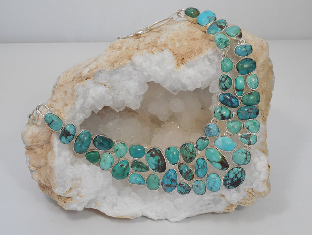 Artisan Turquoise Necklace 3