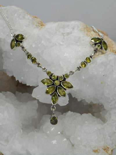 Delicate Peridot Necklace 2