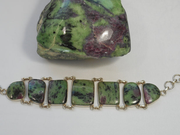 Ruby in Zoisite Bracelet 1