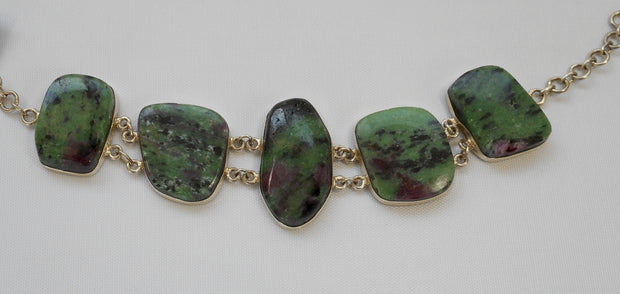 Ruby in Zoisite Bracelet 2
