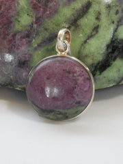 Ruby in Zoisite Pendant 2