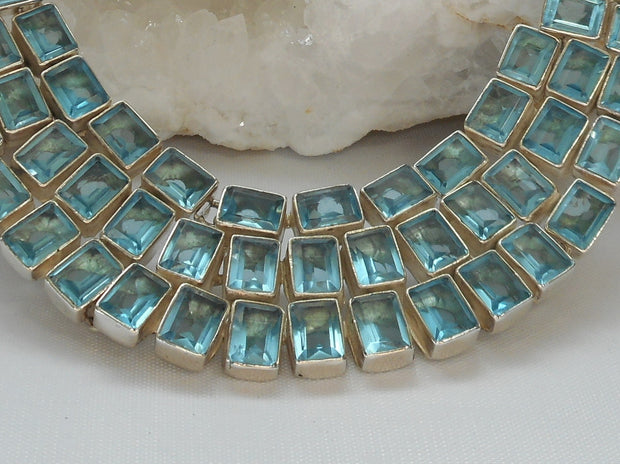 *London Blue Topaz Necklace