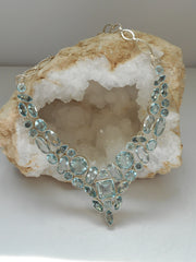 *Blue Topaz Necklace 2