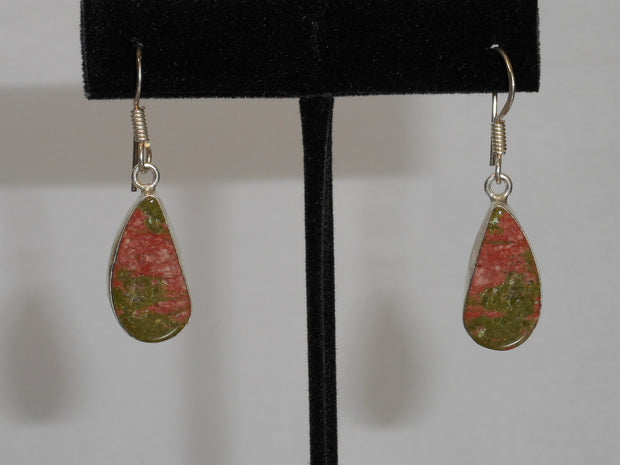 Unakite Earring Set 1