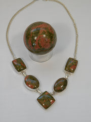 Unakite Necklace 4