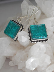 Dichroic Glass Earring Set 1
