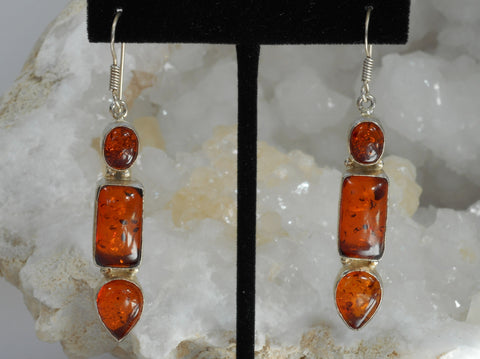 Amber Earring Set 2
