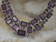 *Amethyst Quartz Necklace 2
