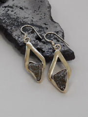 Sterling and Meteorite Earring Set 2