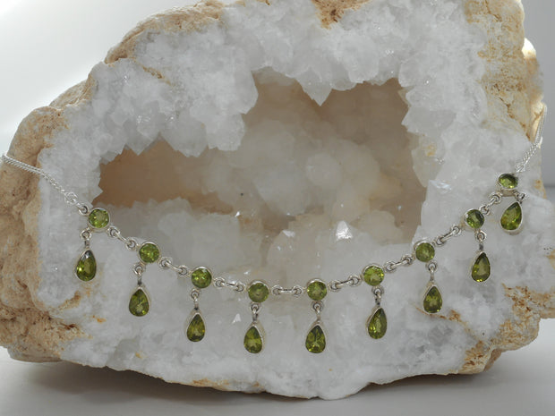 Delicate Peridot Necklace 3