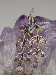 Amethyst Quartz Earring Set 1