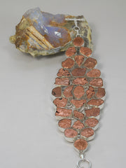 Copper Nugget Bracelet 1