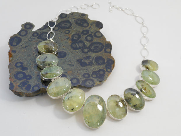 Prehnite Necklace 6