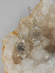 Herkimer Diamond and Sterling Earring Set 1
