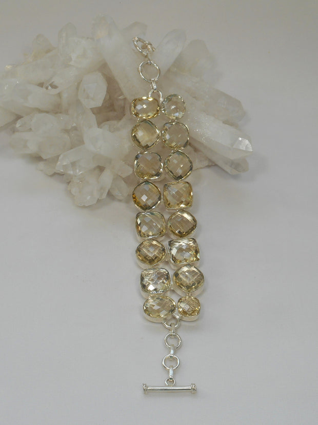 Lemon Citrine Quartz Bracelet 2