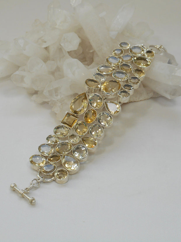 Lemon Citrine Quartz Bracelet 1