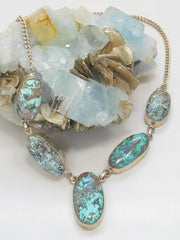 Chrysicolla Necklace 2