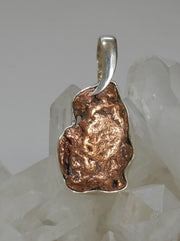 Copper Nugget Pendant 2