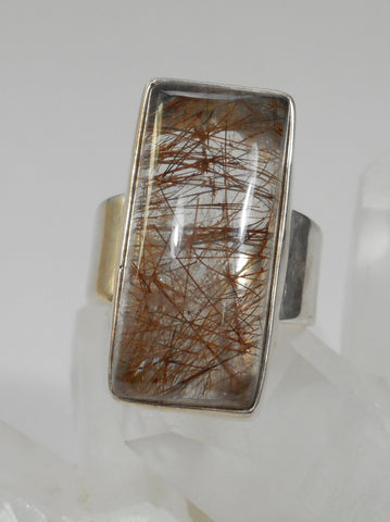 *Rutilated Quartz Ring 1