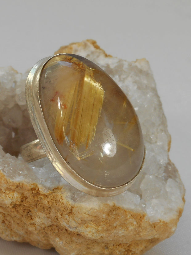 *Rutilated Quartz Ring 2