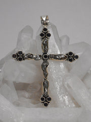 Meteorite and Sterling Cross 2