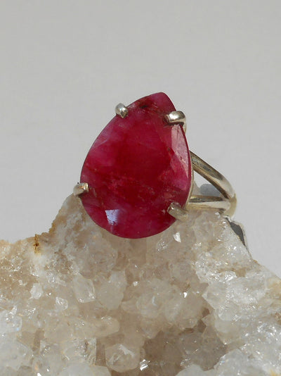 Ruby and Sterling Ring 1