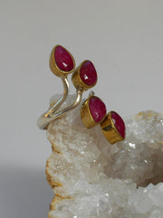 Ruby and Sterling Ring 2