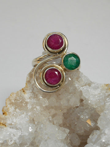 Ruby and Emerald Ring 4